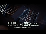 EMG 808 vs Seymour Duncan Blackouts - 8 String Metal Test