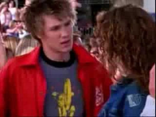 Hilarie Butron Chad Michael Murray On Dawson's Creek.