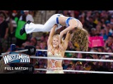 FULL MATCH  Kelly Kelly &amp Maria Menounos vs. Beth Phoenix &amp Eve Torres WrestleMania XXVIII