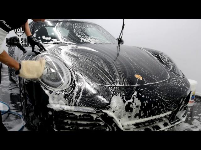 High End Car Detailing Porsche Targa Modesta treatment