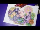 Magic Beauty coloring book by Nadiya Vasilkova
