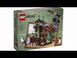 Lego Ideas 21310 Old Fishing Store Set