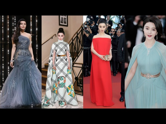 Fan Bingbing's Red Carpet Looks at the 2017 Cannes Film Festival