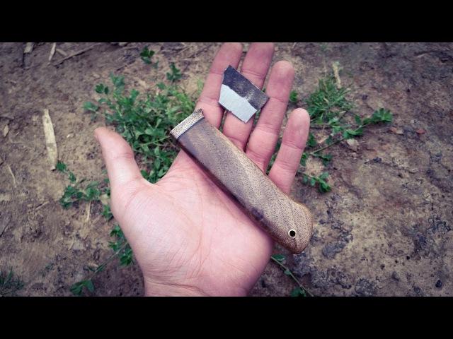 убойный тест ножа из быстрореза р6м5 (мехпилы)