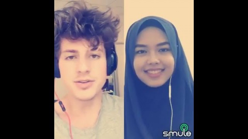 We Don't Talk Anymore Charlie Puth Sheryl Shazwanie duet on Smule app