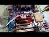 Ремонт материнской платы ga k8ne gigabyte прогрев чипа NF4 A3