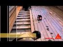 Монтаж террасной доски при помощи сверхмощного клея без применения саморезов