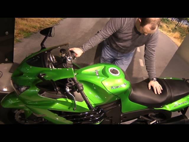 Мини обзор гипербайка Kawasaki ZZR 1400   БайкХаус