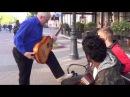 Показал ребятам как надо играть на гитаре КЛАССНЫЙ МУЗЫКАНТ