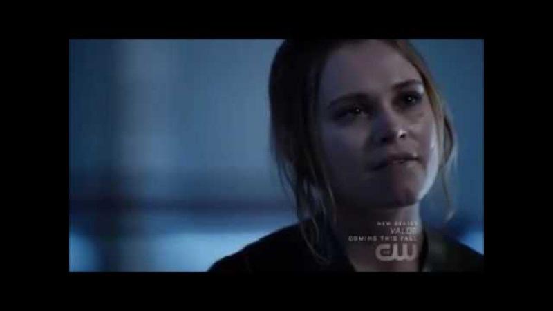 The 100 4x13 - Clarke Bellamy -'We've been through a lot together'