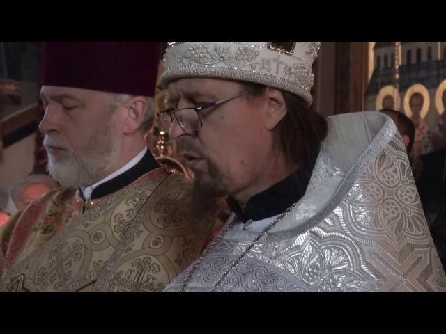 Предстоятель УПЦ звершив Літургію в Голосієво. 13 грудня 2016