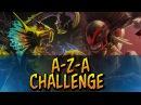 Dota 2 - A-Z-A Challenge Bloodseeker Venomancer
