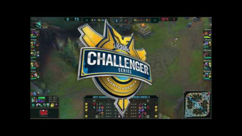 TS vs DFX - Game 2 Summer 2017 - Week 5 Day 2 (NACS)