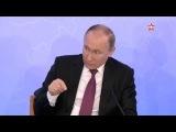 Владимир Путин пошутил по поводу своего почерка