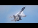 НЕВЕРОЯТНЫЙ ТАНЕЦ SU-35S MAKS 2017 Rusia