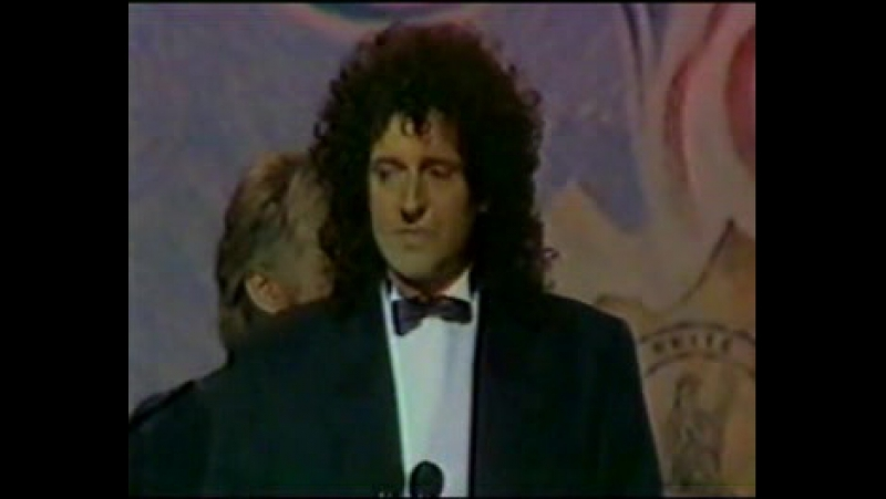 Queen - Brit Award 1990 (Ultima Apparizione Di Freddie Mercury)