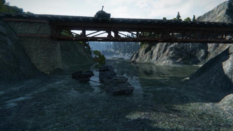 Прыжок с моста на маус.