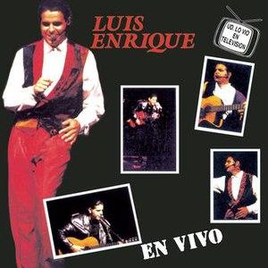 Luis Enrique альбом En Vivo