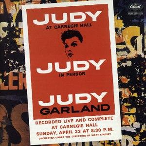 Альбом Judy Garland Judy At Carnegie Hall