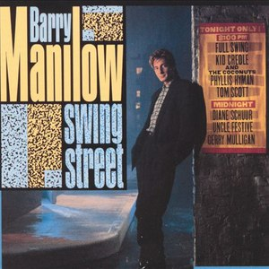 Альбом Barry Manilow Swing Street