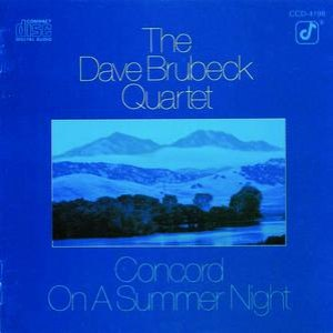 The Dave Brubeck Quartet альбом Concord On A Summer Night