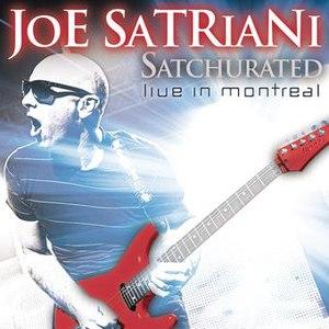 Joe Satriani альбом Satchurated: Live In Montreal
