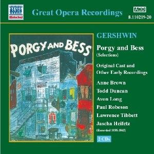 George Gershwin альбом GERSHWIN: Porgy and Bess (Original Cast Recordings) (1935-1942)