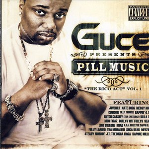 """Guce альбом Pill Music """"The Rico Act"""" Vol.1"""