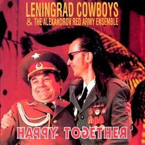 Leningrad Cowboys альбом Happy together