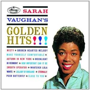 Sarah Vaughan альбом Golden Hits