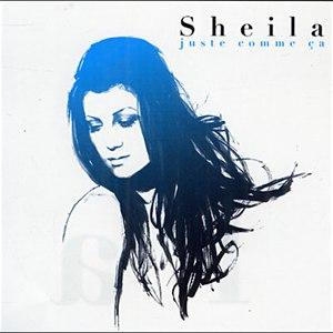 Sheila альбом Juste comme ça