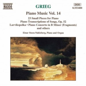 Edvard Grieg альбом GRIEG: Piano Transcriptions of Songs, Op. 52 / 23 Small Pieces /