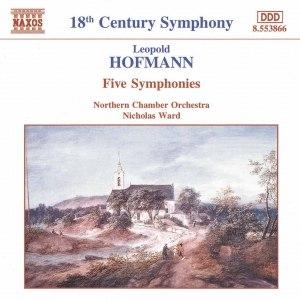 Leopold Hofmann альбом HOFMANN: Five Symphonies