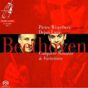 Pieter Wispelwey альбом Beethoven: Complete Sonatas and Variations for Piano and Cello