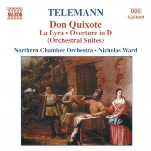 GEORG PHILIPP TELEMANN альбом TELEMANN: Don Quixote / La Lyra / Ouverture in D Minor