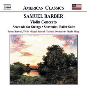 Samuel Barber альбом BARBER: Violin Concerto / Serenade for Strings / Souvenirs