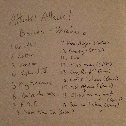 Attack! Attack! альбом Bsides and Unreleased