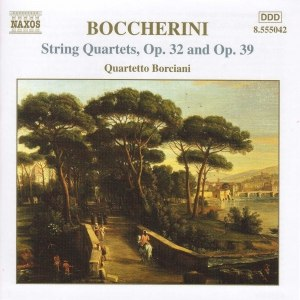 Luigi Boccherini альбом BOCCHERINI: String Quartets, Opp. 32 and 39