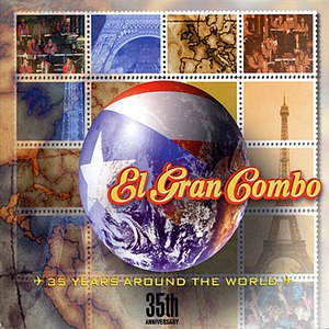 El Gran Combo альбом 35th Anniversary- 35 Years Around the World
