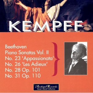 Wilhelm Kempff альбом Wilhelm Kempff Plays Beethoven: Vol. II, Piano Sonatas