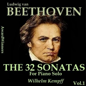 Wilhelm Kempff альбом Beethoven, Vol. 06 - 32 Sonatas 01-16