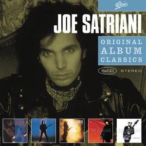 Joe Satriani альбом Original Album Classics