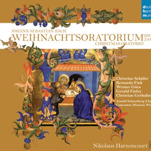 Nikolaus Harnoncourt альбом Bach: Weihnachtsoratorium