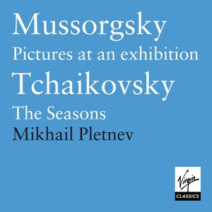 Mikhail Pletnev альбом Mussorgsky: Pictures at an Exhibition/Tchaikovsky: The Seasons