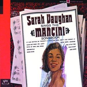 Sarah Vaughan альбом Sarah Vaughan Sings The Mancini Songbook