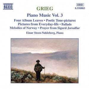 Edvard Grieg альбом GRIEG: Pictures from Everyday Life / Ballade, Op. 24