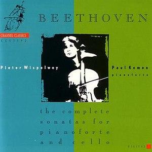 Pieter Wispelwey альбом Beethoven : sonatas for pianoforte and cello