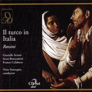 Gioacchino Rossini альбом Il turco in Italia