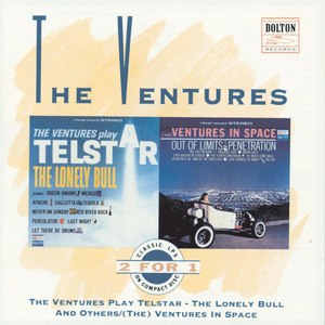 The Ventures альбом The Ventures Play Telstar - The Lonely Bull And Others / (The) Ventures In Space