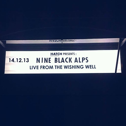 Nine Black Alps альбом Live From The Wishing Well